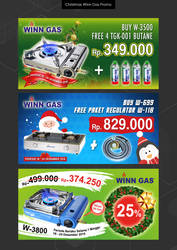 Winn Gas Promo Web Banner Rakuten by YulizarZ