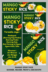 Mango Sticky Rice Banner by YulizarZ