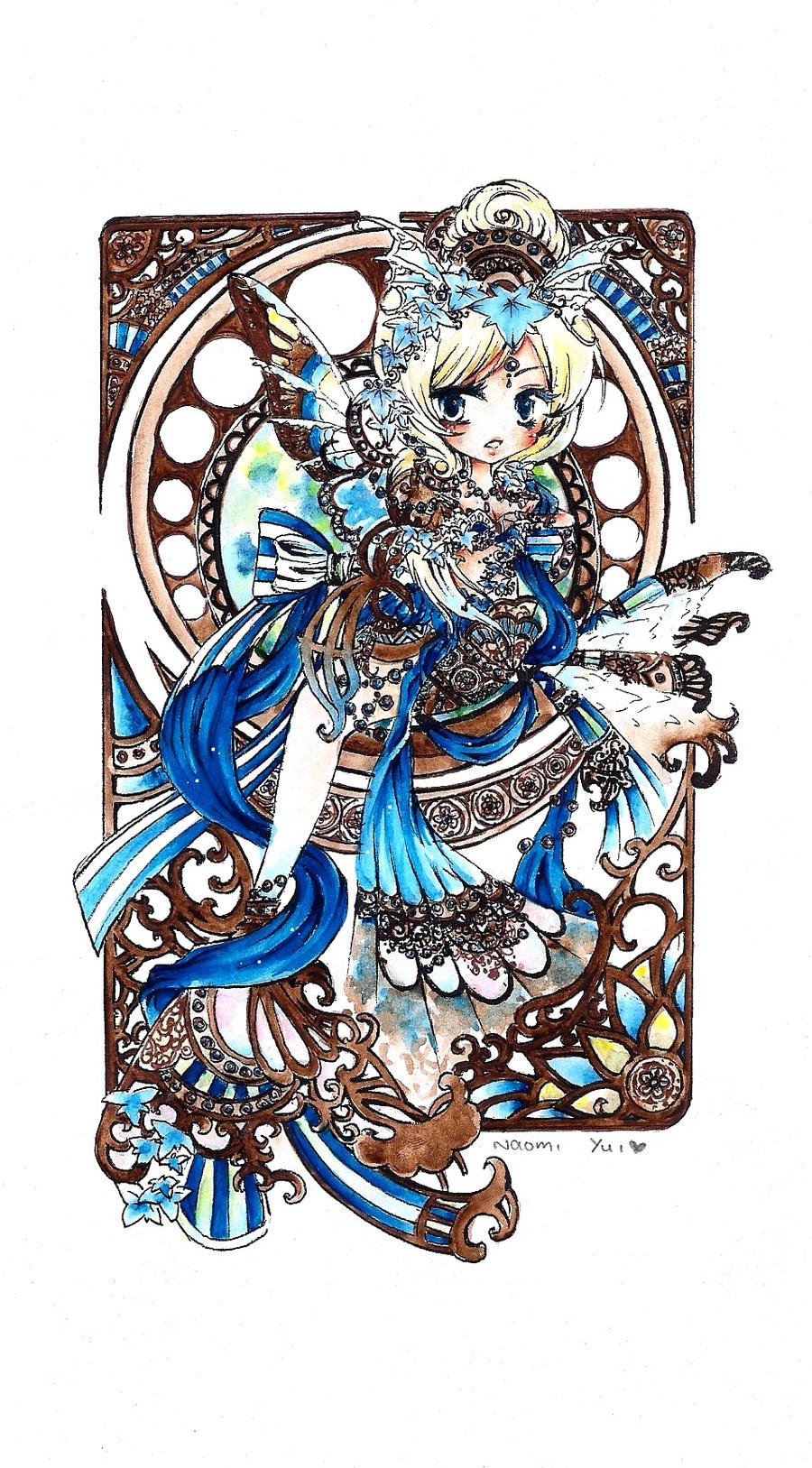 Chibi Blue Voice by naomiyui