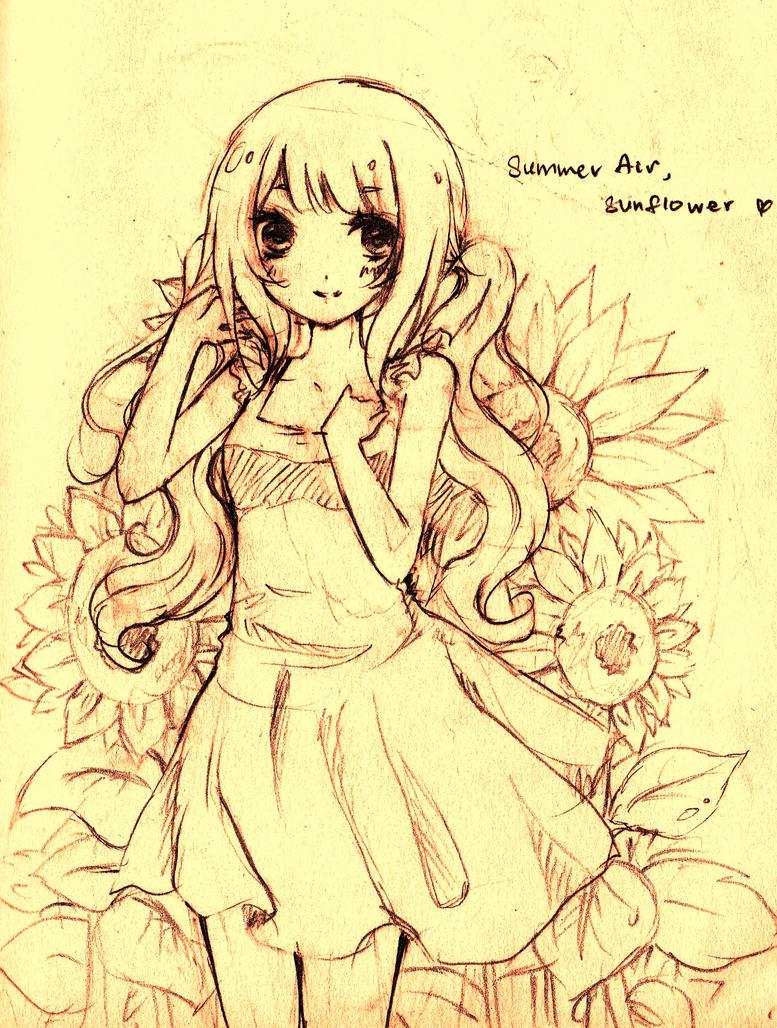 Summer Air by naomiyui