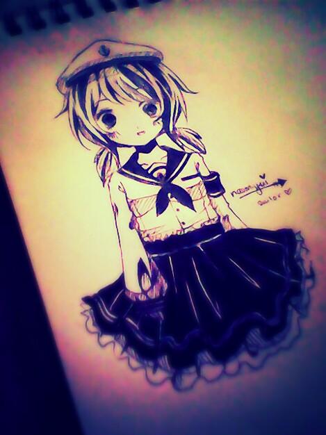 Sailor girl by naomiyui
