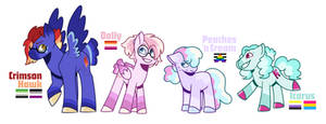 MLP Next Gen - PinkieSpitDash Family
