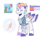 MLP Redesigns - Rainbow Dash