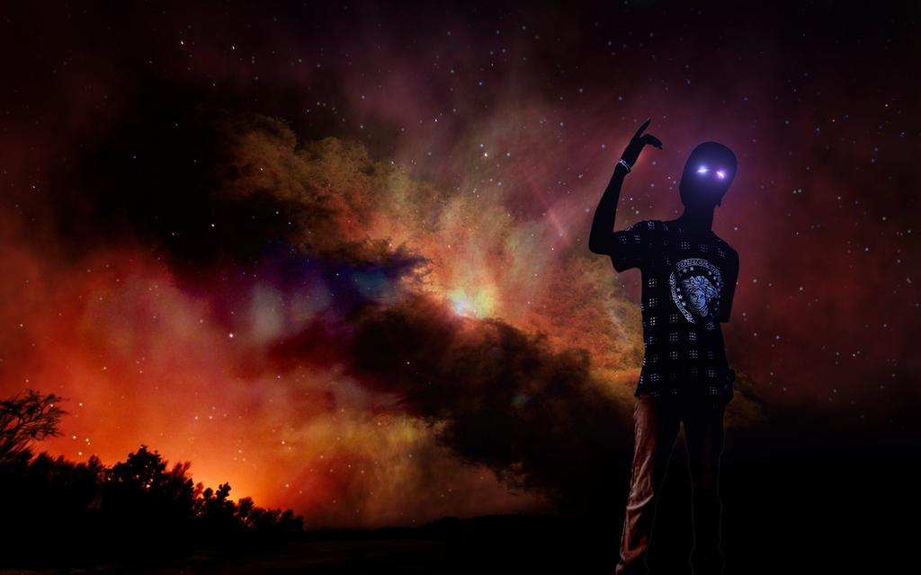 Trap galaxy by elhellmet