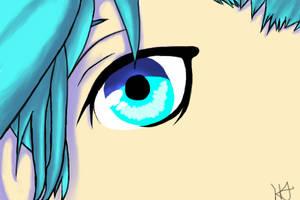 Ai Mikaze's Eye by Mounteen
