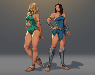[Request] Lura and Lina