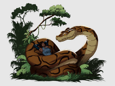 [Request] Kaa and Korra