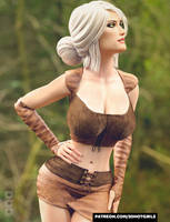 Epic Pre MMORPG Character Debut - Lili by 3DHotGirls