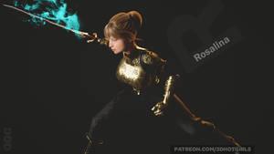 Rosalina Wields Her Royal Sword