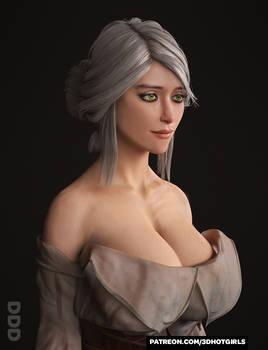 Ciri V2 Portrait