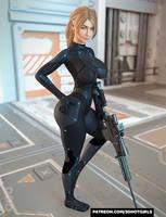 Sniper Sarah Full Body Shot