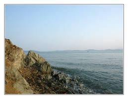 The coast by J-dono