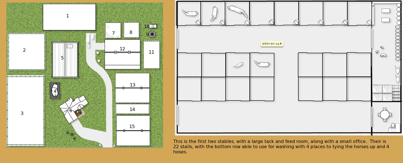 SSSS Barn layout by horseloveringod on deviantART