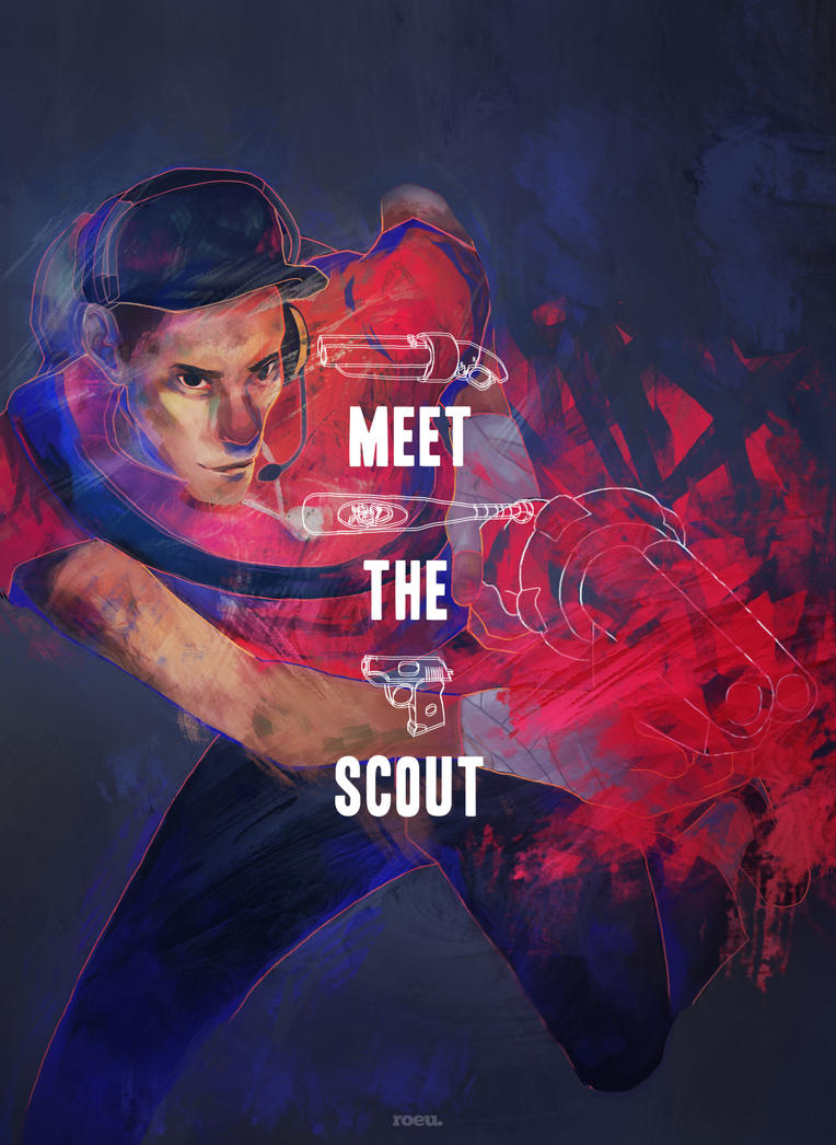 tf2 meet the scout first person animation