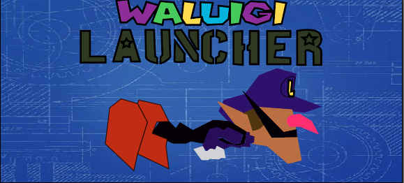 Waluigi Launcher by ancientmage96
