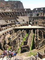 Inside The Coliseum by seanpt