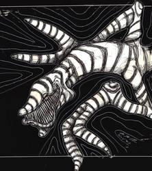 Death Wurm - Inktober 2017 - Day1 by seanpt
