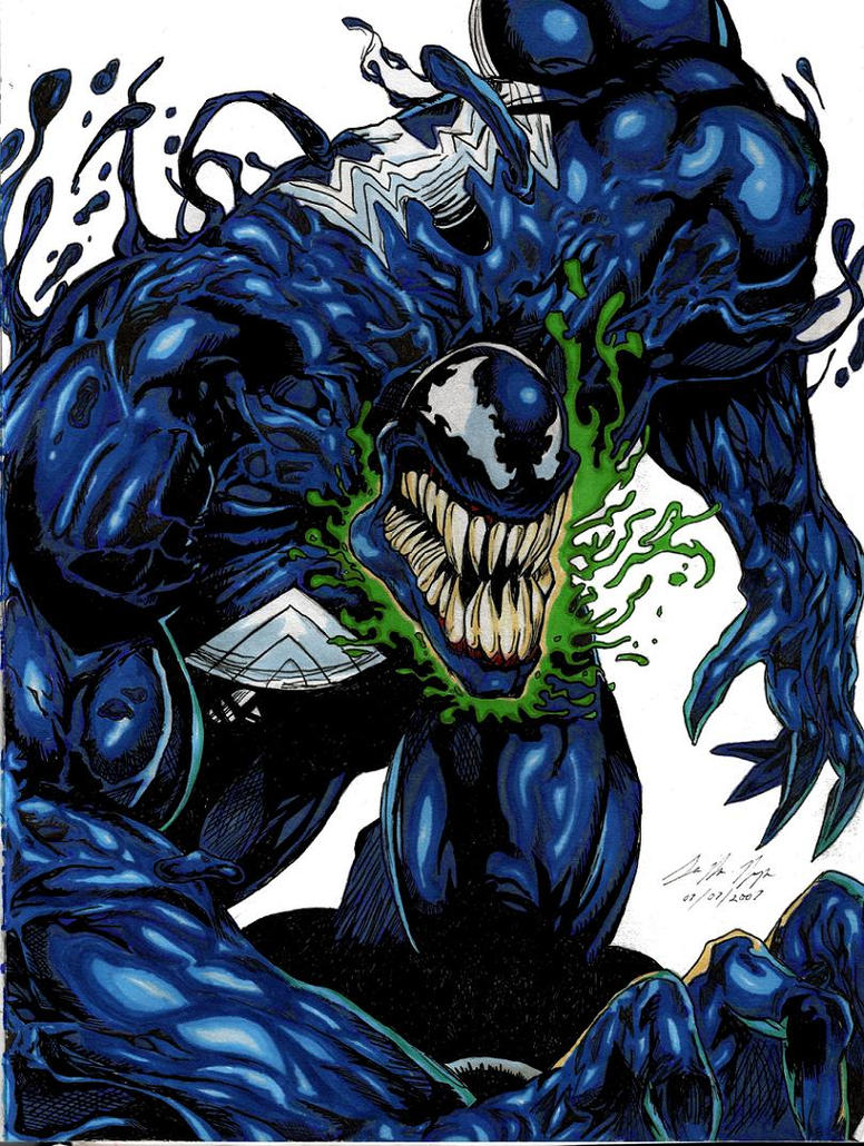 Venom: You Talkin To Me COLOUR by seanpt