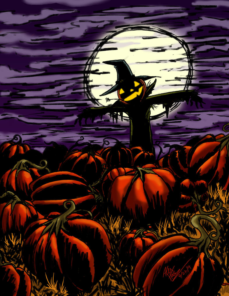 Colored - Pumkin Patch by AlexHoey