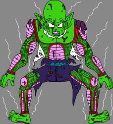 Barefoot Shirtless Battle Damaged Piccolo Jr. 3