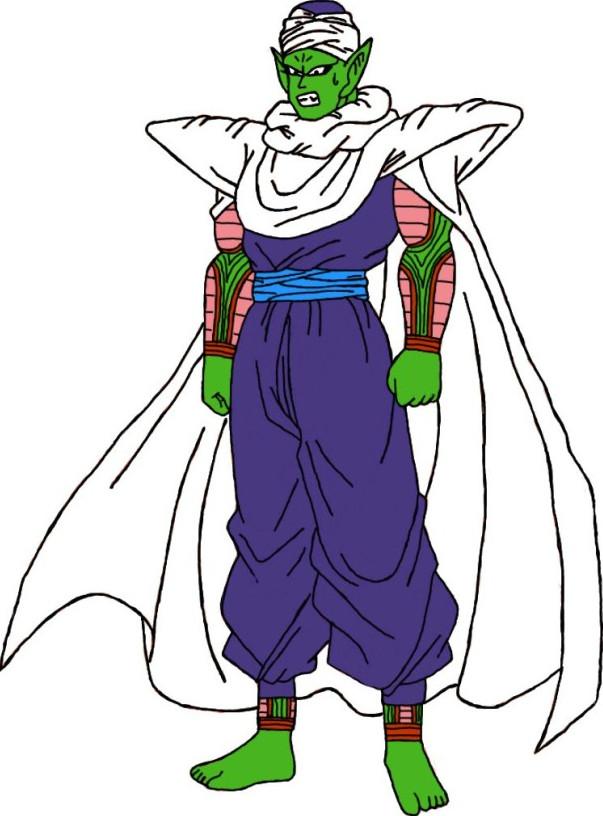 Barefoot Irritated Piccolo Jr. by DragonBallFan2012