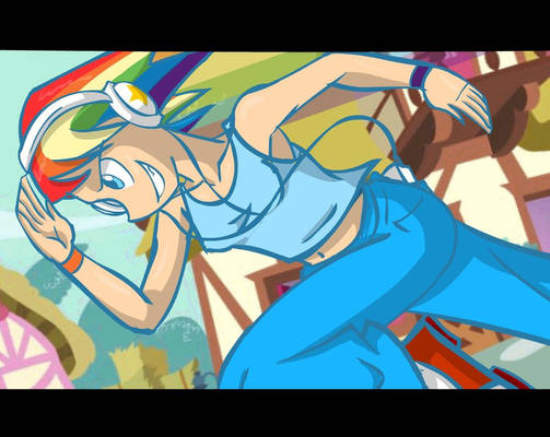 MLP Rainbow Dash Human Version