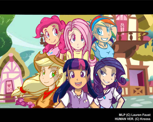 MLP Human version ver. 1