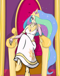 MLP Celestia Human Version
