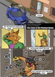 The return of the Phantom Bunny Page 1