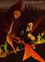 Hunger Games - Burning by Elyon64