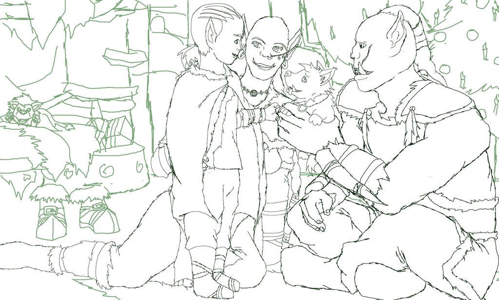 Winter's Veil Orcs by ode2sokka