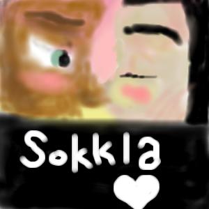 A Sokkla Sunset Kiss by ode2sokka