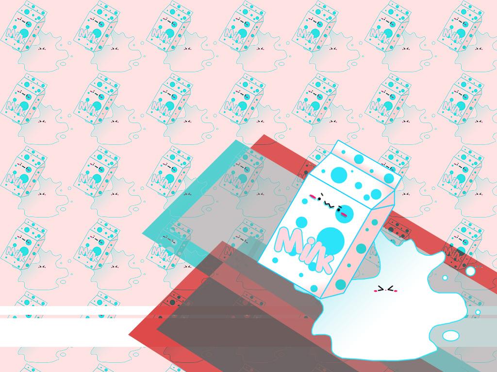 Milk Wallpaper By Bryoshe