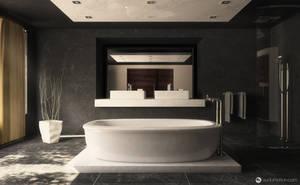 Contemporary Bathroom by vudumotion