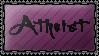 Atheist by xMissSin