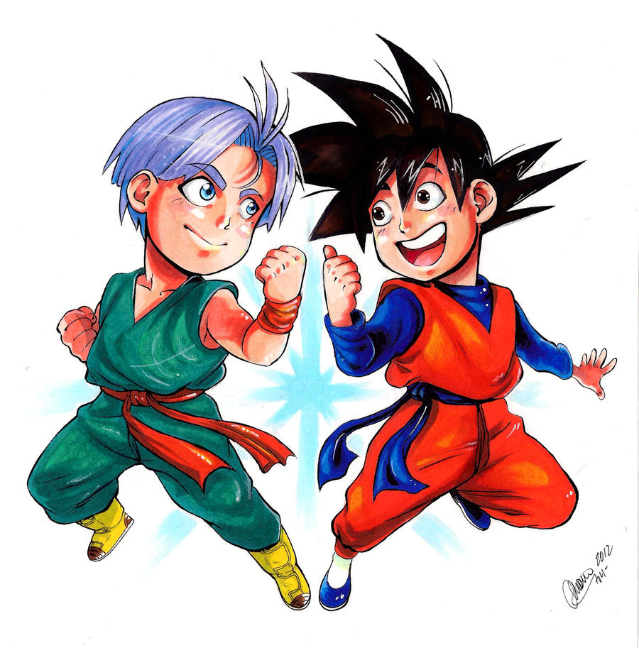DBZ - Kids by Goldman-Karee