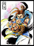 Takumi Street Fighter Style by Goldman-Karee