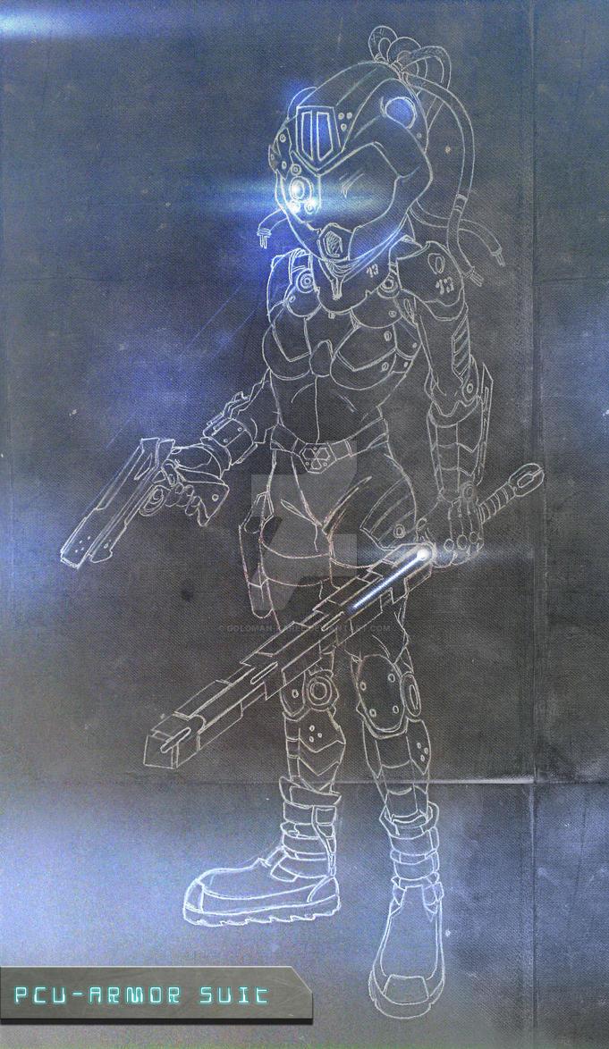 Pcu - Armor Suit by Goldman-Karee