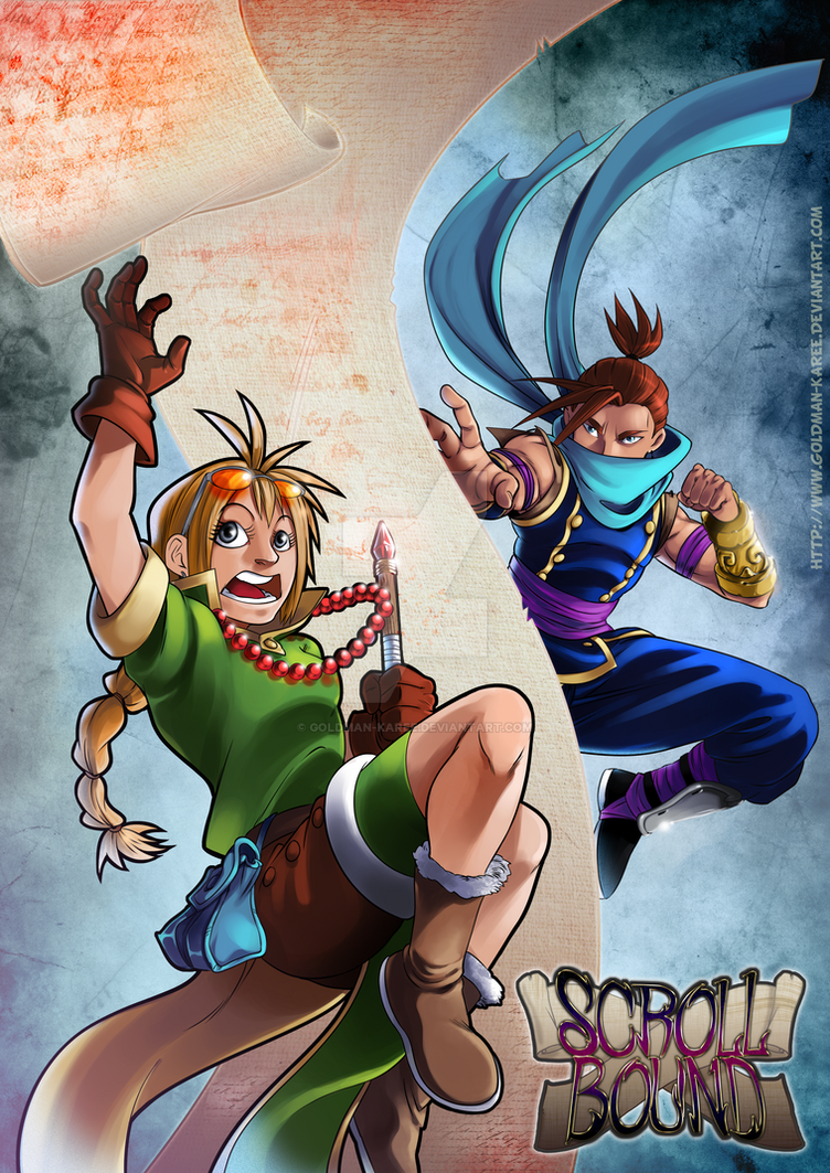 ScrollBound - The ninja and the wizard by Goldman-Karee