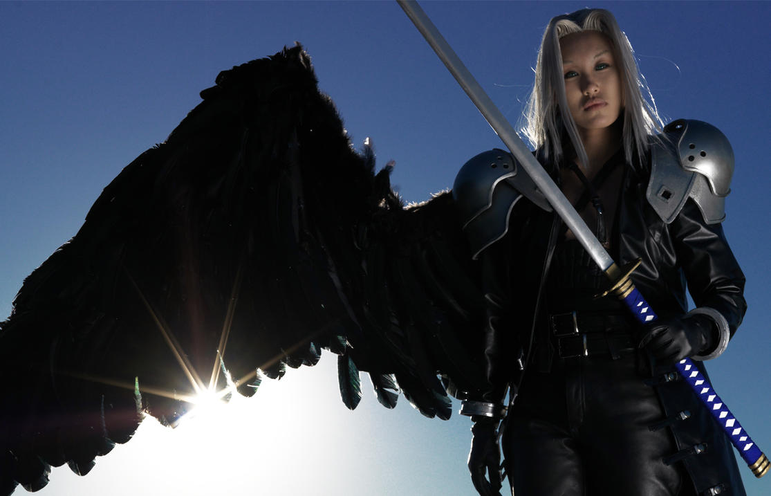 Sephiroth Wing One Wing Angel by