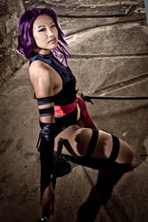 Psylocke: Pinup Edition by alita-b-angel
