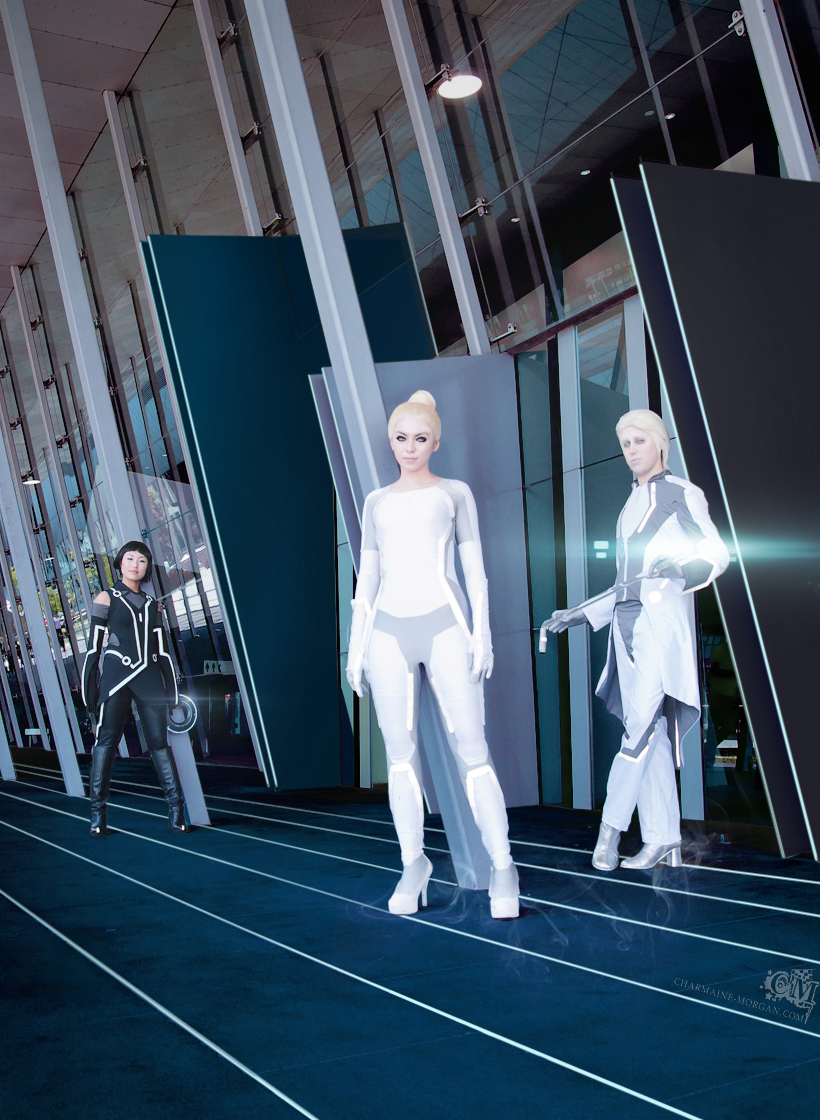 Tron Legacy: Three's better by alita-b-angel