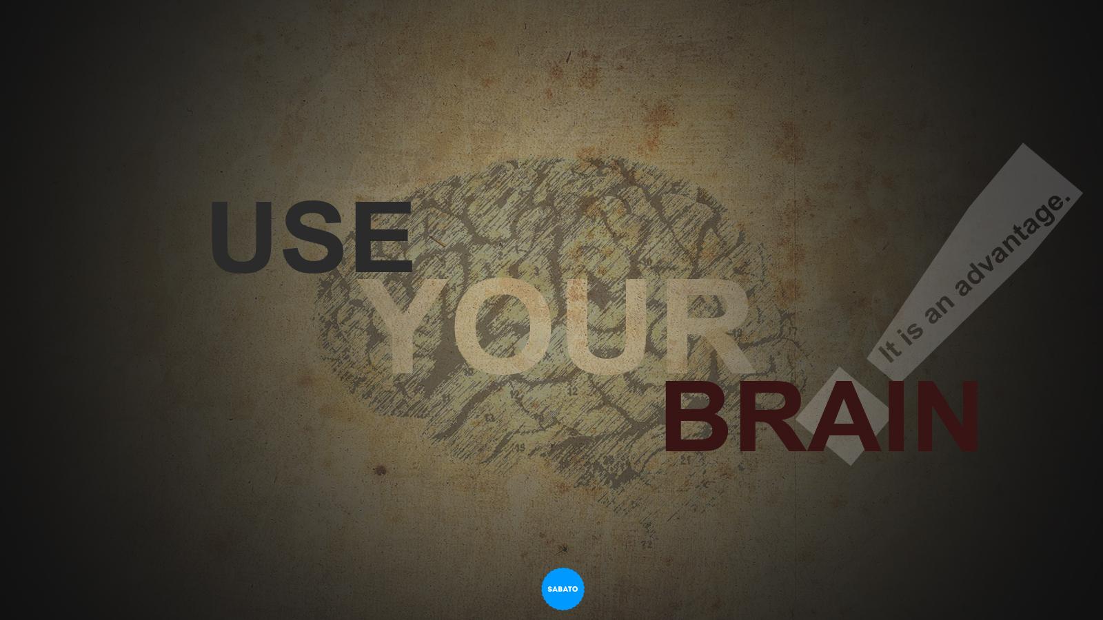 use your brain by lilianasabato on deviantart
