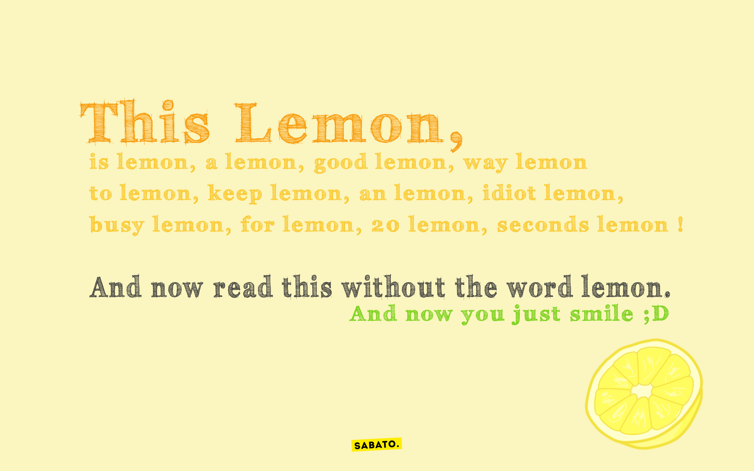 This Lemon, by LilianaSabato