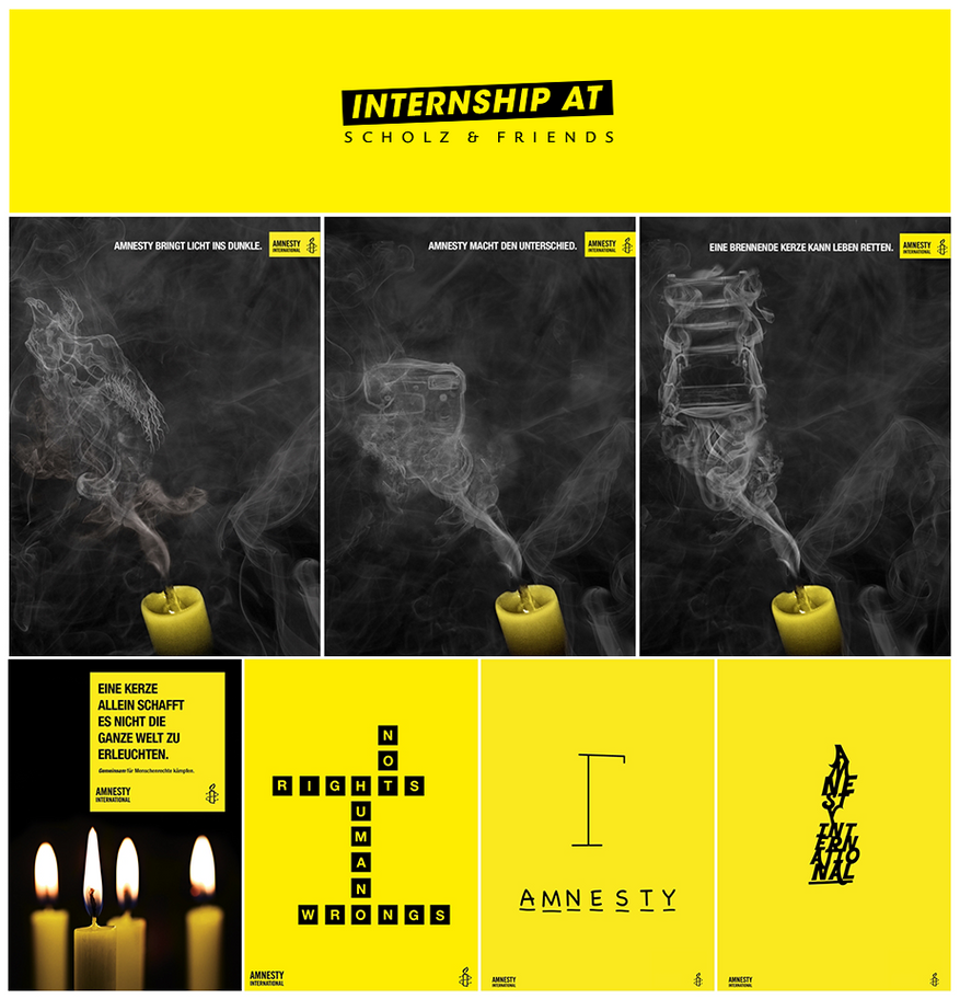 Amnesty International Advertising Campaign by LilianaSabato