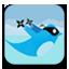 Ninja Twitter Button by FuckinSick