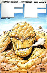 FF Sketch Cover - The Thing
