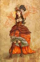 SteamPumpkin Lady