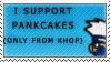 KHOP pancakes stamp by Cama-chan