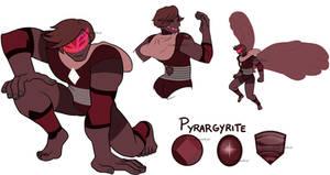 Fusion: Pyrargyrite by machiavellical